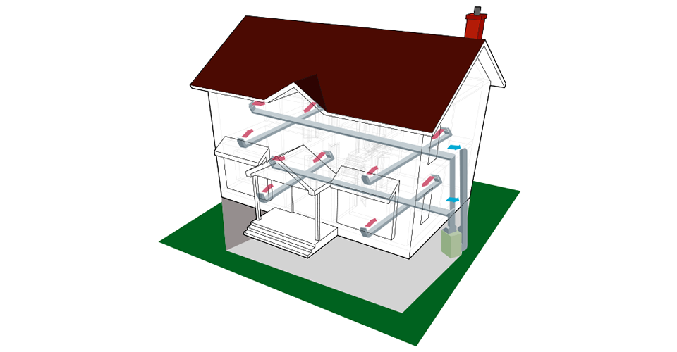 The aeroseal process ensures your home's ducts deliver nearly 100% of the heated (or cooled) air into the rooms of your house.